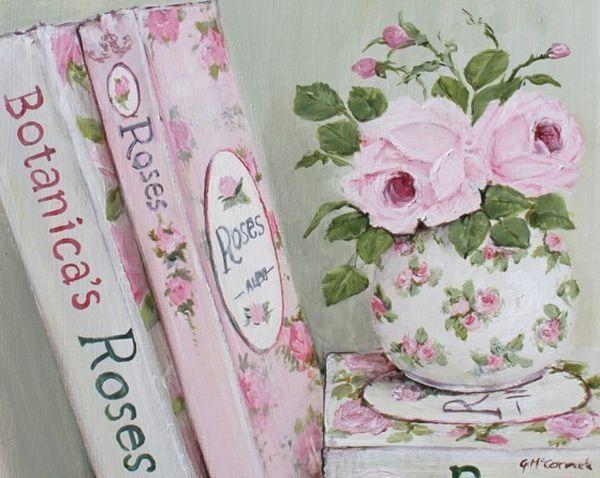 465 best art still life images on pinterest art floral - Decorar estilo shabby chic ...