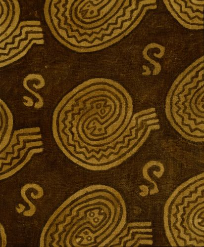 Nazca textile panel with S-Shaped snake motif, c. 900-1430 Chimu, Peru  © The Trustees of the British Museum
