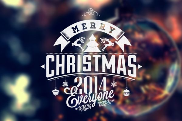 Vintage Christmas And New Year Labels on Behance