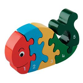 Fantastic traditional wooden toys, this hand made and hand painted jigsaw is Fair Trade