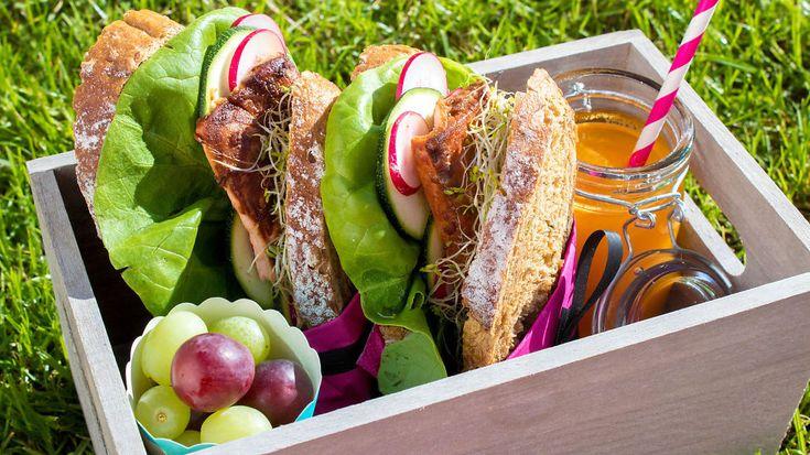Slik lager du sunne og digge matpakker til eksamen