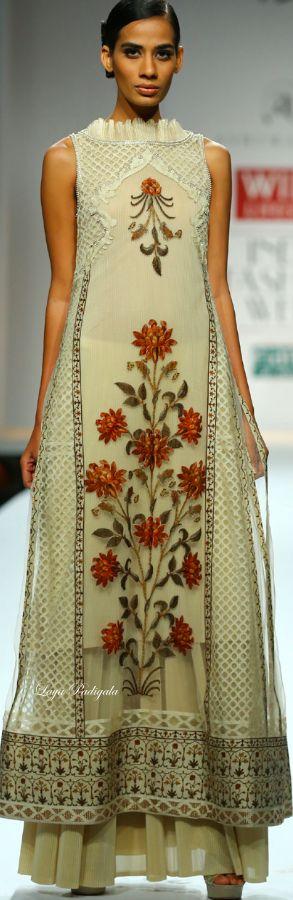 Ashima-Leena -Wills India Fashion Week Fall/Winter 2014-15❋ Laya Padigala
