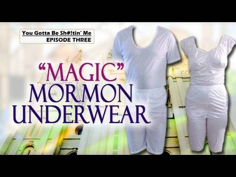 Magic Mormon Underwear....Geeze....why don't Catholics have neat undies like this?