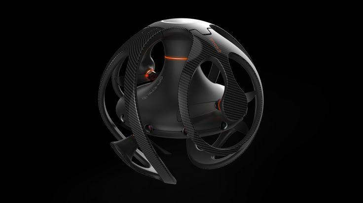 """다음 @Behance 프로젝트 확인: """"nepdesign Sphere Drone"""" https://www.behance.net/gallery/34795409/nepdesign-Sphere-Drone"""