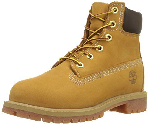 timberland wheat 6 inch premium boot junior