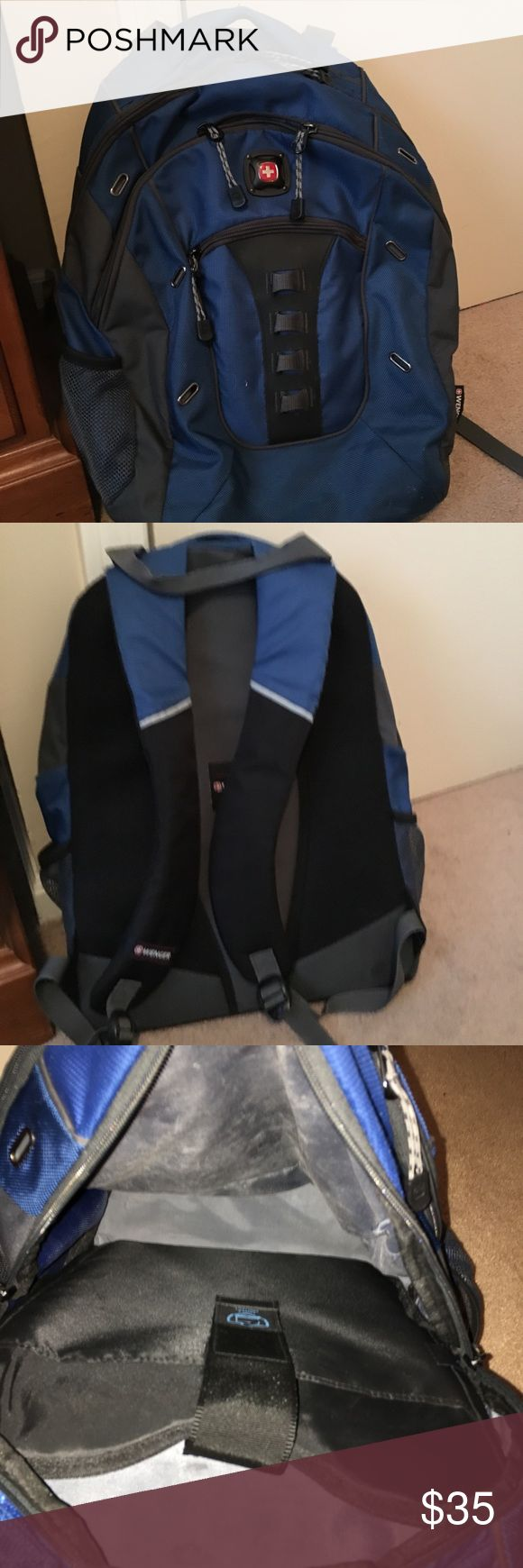 Swiss Gear/ Wenger Backpack -heavy duty.        -lightly used.       -no obvious signs of wear.    -laptop holder.       -super light       -smoke free home SwissGear Bags Backpacks
