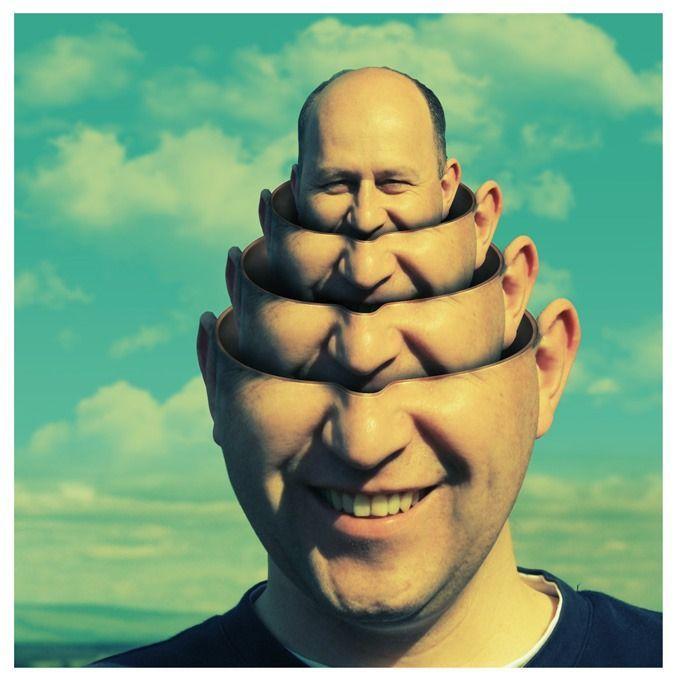 """Creating """"Surreal Head Stack"""" Photo Manipulation by Photoshop Tutorials"""