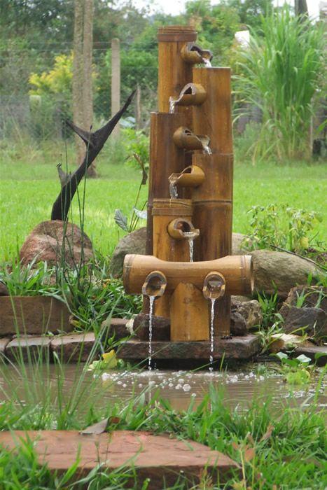 The 25+ best Bamboo fountain ideas on Pinterest