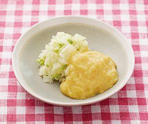 コーンポテトサラダ|手軽にたのしむアレンジレシピ | キユーピー ベビーフード・幼児食
