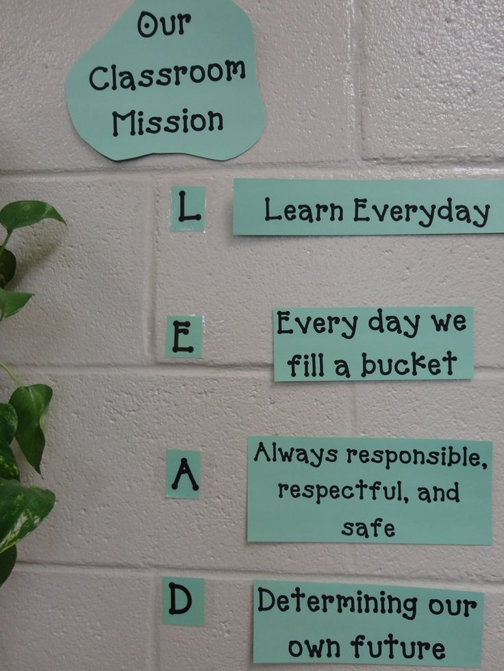 Class Mission Statement                                                                                                                                                     More