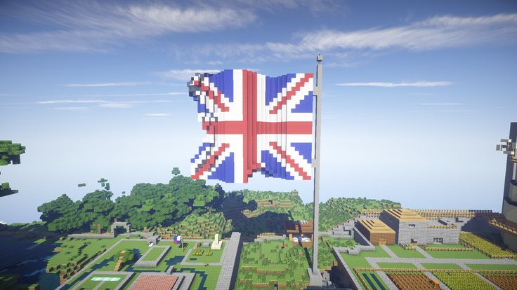 Minecraft - Flags of the World - A classroom lesson idea for teaching flags of the world and linked material through Minecraft.