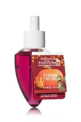 Pumpkin Fireside Wallflowers Fragrance Refill - Home Fragrance 1037181 - Bath & Body Works