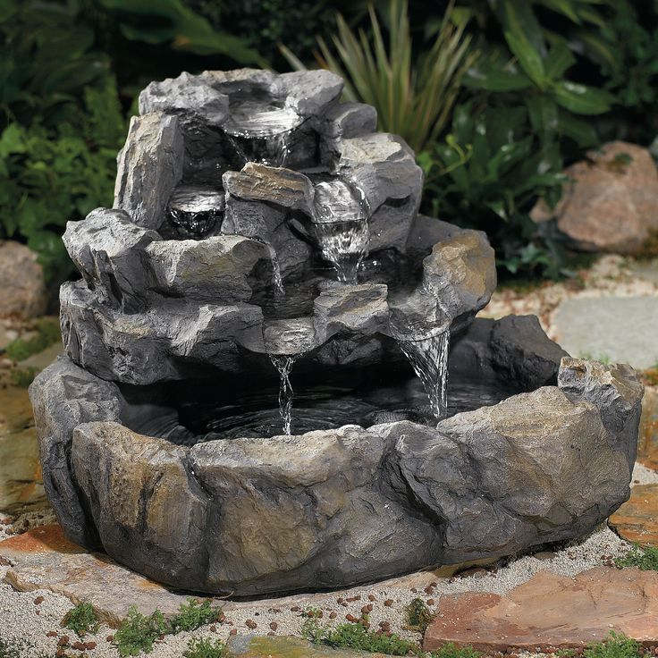 Pin by chloe baer on backyard pinterest for Outdoor decorating with rocks