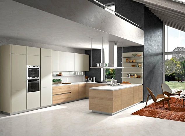 Italian Modern Kitchens | Orange Modern Italian Kitchen Designs