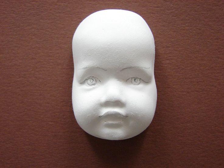 Как расписать лицо куклы-феи - Ярмарка Мастеров - ручная работа, handmade