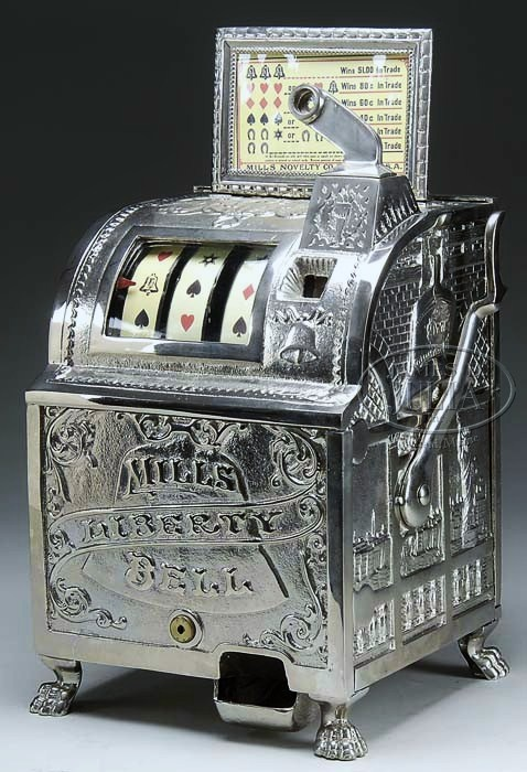 Liberty Bell - Mills Slot Machine; ca. 1930s