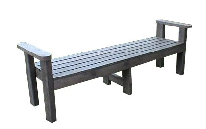 Recycled Plastic Ottoman Benches 2 Seaters.- 3 Seaters - 4 Seaters