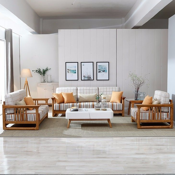 Decorating Living Room With Wooden Furniture: 1000+ Ideas About Wooden Sofa Designs On Pinterest