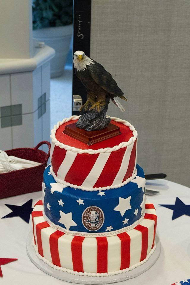 Ethan's Eagle Scout Court of Honor – cake