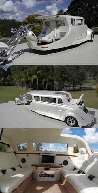 """""""Limo"""" by Harley Davidson  Just for taking Donna to Walmart!!!!"""