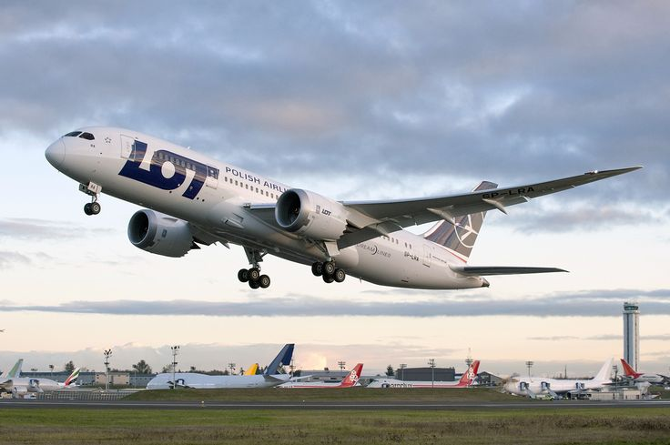 Image issue du site Web http://www.aviationnews.eu/blog/wp-content/uploads/2012/11/LOT-first-787-take-off.jpg
