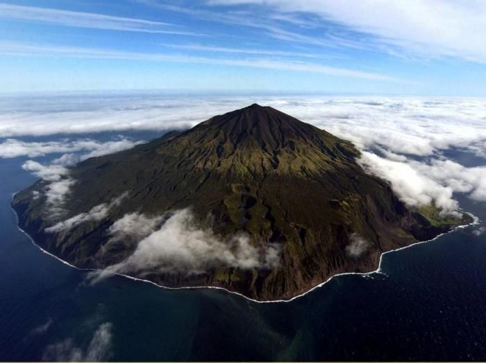 Tristan Da Cunha Island_Tristan Da Cunha, an Island in the middle of the South Atlantic Ocean, is not only one of the most remote places on earth