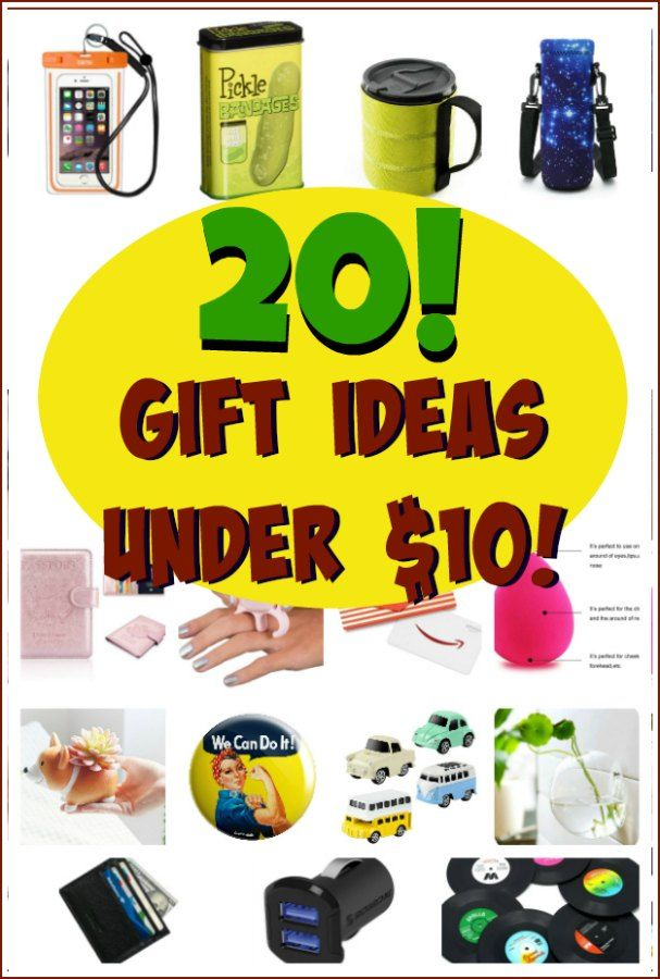 20 Gift Ideas Under Ten Bucks Holidays Giftideas Christmas Stockingstuffer Homemade Diy Birthday Anniverary Amazon Home