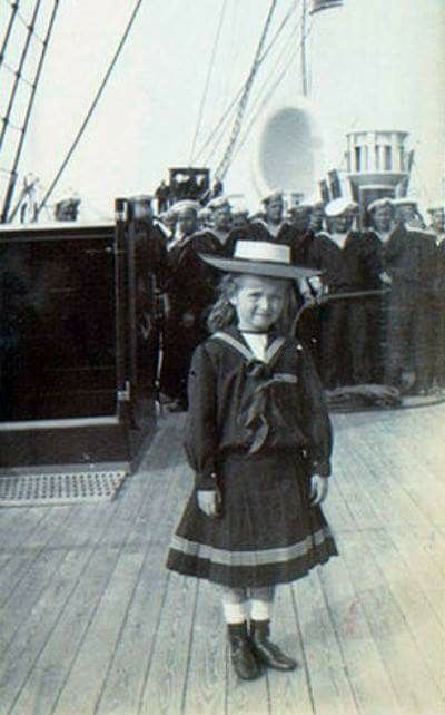 Olga Nikolaevna aboard the Polar Star, circa 1900. #theromanovs