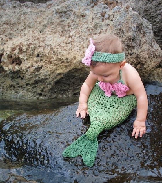 Wow! They Exist!: Baby Mermaids, Babies, Halloween Costumes, So Cute, Mermaids Baby, Mermaids Costumes, Baby Girls, Kids, The Little Mermaids