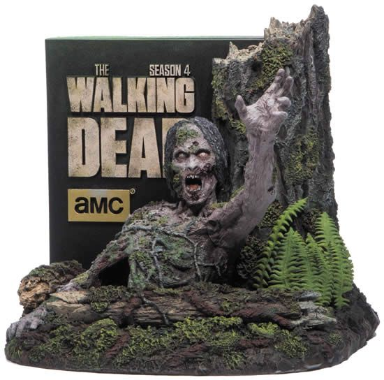 """The Walking Dead: Season 4 Limited Edition on Blu-ray - Now that the fourth season of """"The Walking Dead"""" has concluded, Anchor Bay Entertainment is pleased to announce that """"The Walking Dead: The Complete Fourth Season"""" will be released on Blu-ray™ and DVD on August 26th."""