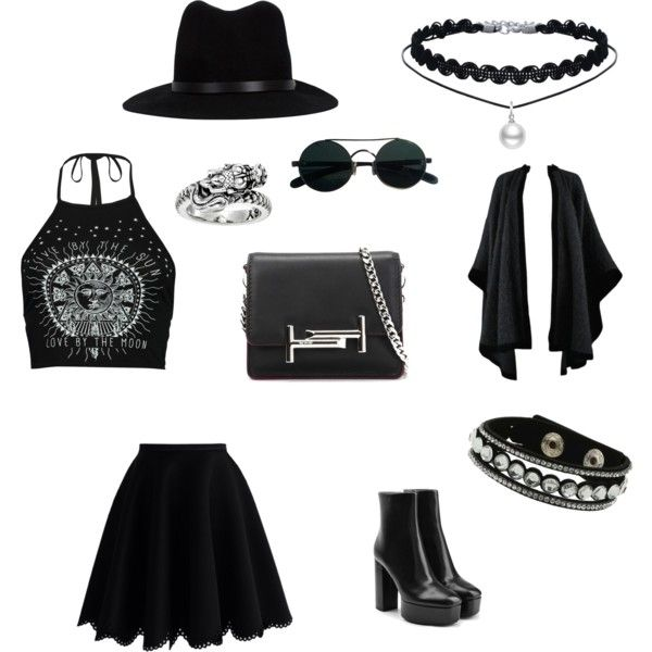 Untitled #5 by taurahell on Polyvore featuring Boohoo, Yves Saint Laurent, Chicwish, Alexander Wang, Tod's, Miss Selfridge, King Baby Studio and rag & bone