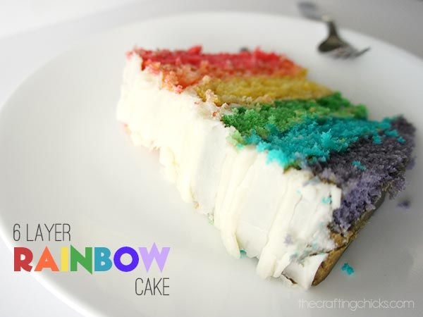 Rainbow Frosting Cake Recipes Recipes Bbc Good Food