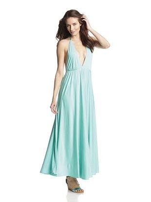 83% OFF JOSA Tulum Women's Houston Halter Maxi Dress (Mint)