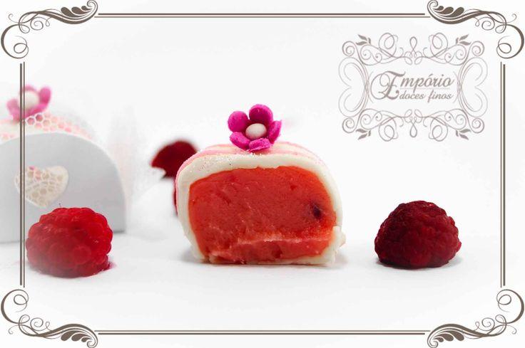 Explosão de framboesa - Empório doces finos #docesparacasamento