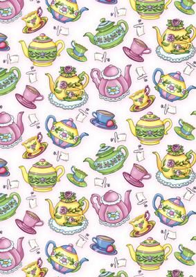 FREE Teapot Background on Craftsuprint designed by Annie Lang - Annie Lang's themed repeated image background page can be used to make both digital or printable creations. Coordinates with Annie's Tea Party (cup186582_1018) and Tea Time Clipart (cup186583_1018) - Now available for download!