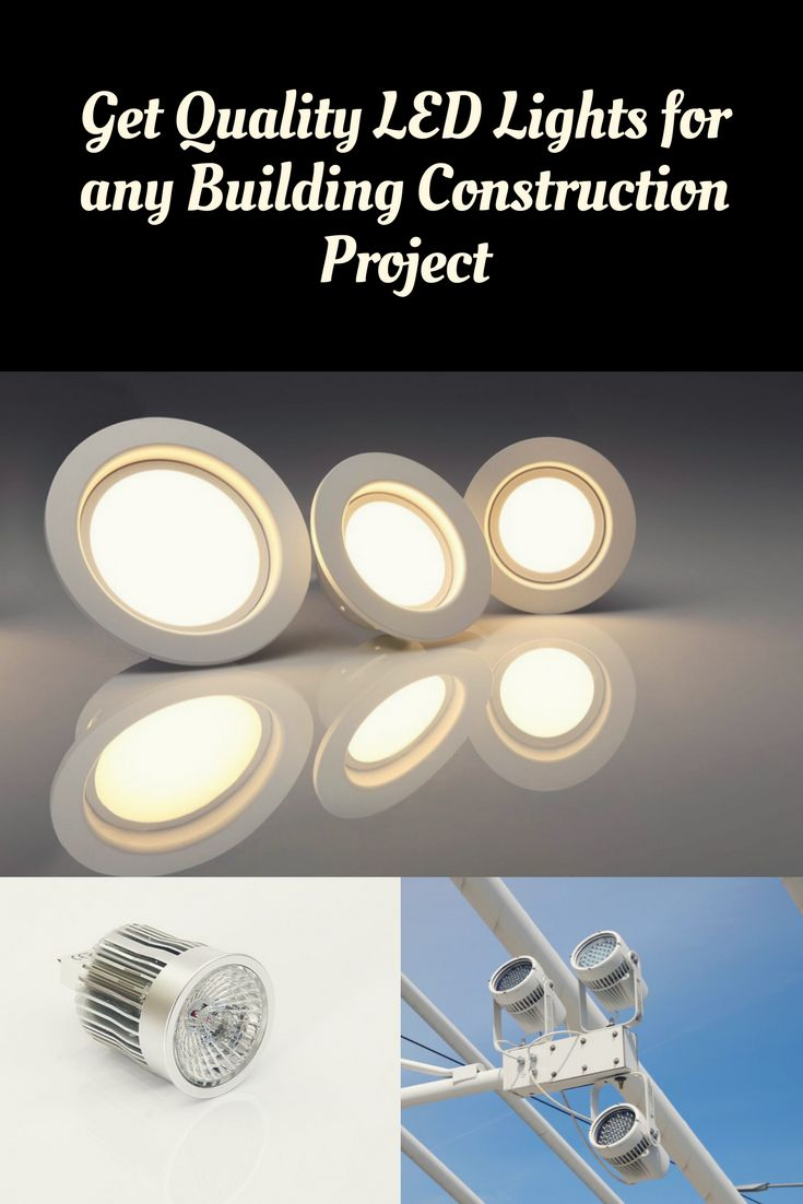 LED lighting is important at construction sites. Find out which lighting products suit your building projects.