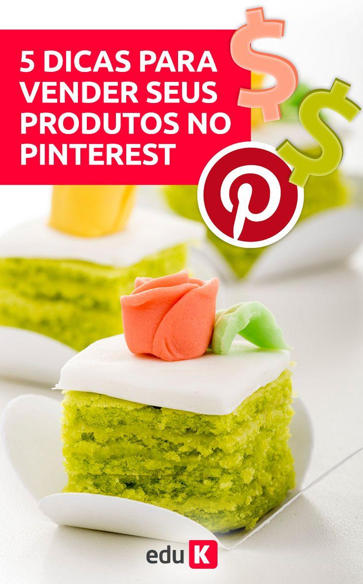 Você tem um negócio de confeitaria? Neste curso você vai aprender a guinar o seu negócio aqui no Pinterest. Clique na imagem e saiba como valorizar os seus doces no momento da foto e na divulgação ;)