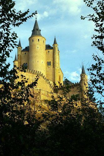 Alcázar of Segovia Castle in Spain