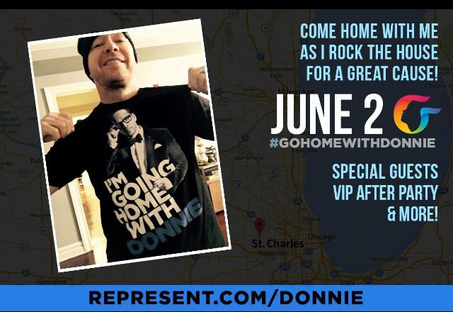 We are SO excited to #GoHomeWithDonnie this June! Gain early access to tix & VIP After Party passes now at Represent.com/Donnie. #GoHomeWithDonnie #ChatAutism