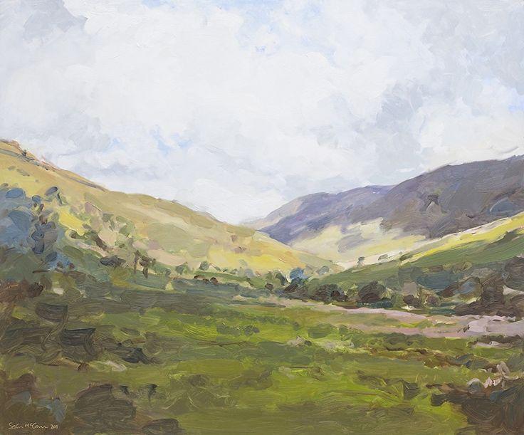 Green Glens of Antrim by Sean McCann Oil ~ 75 x 90cm