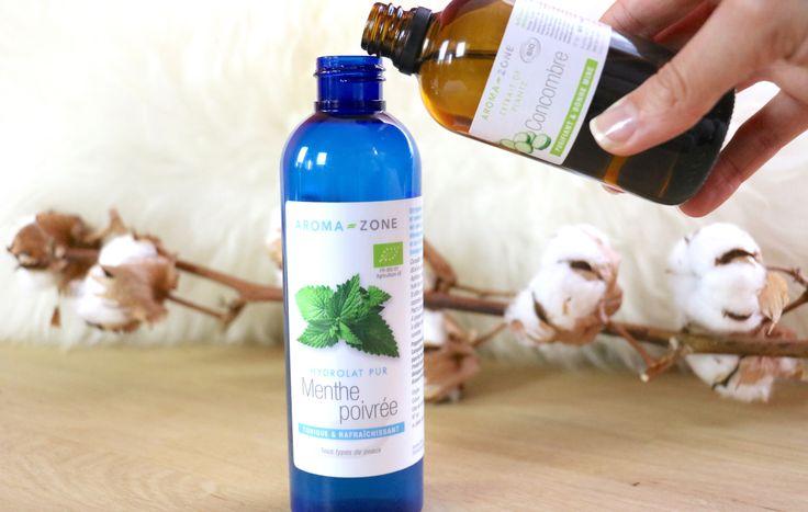 Lotion tonique hydratante pour peaux acnéique Aromazone