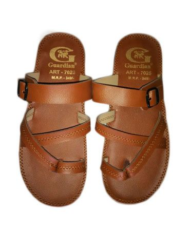 Guardian Light Brown Chappals size 8