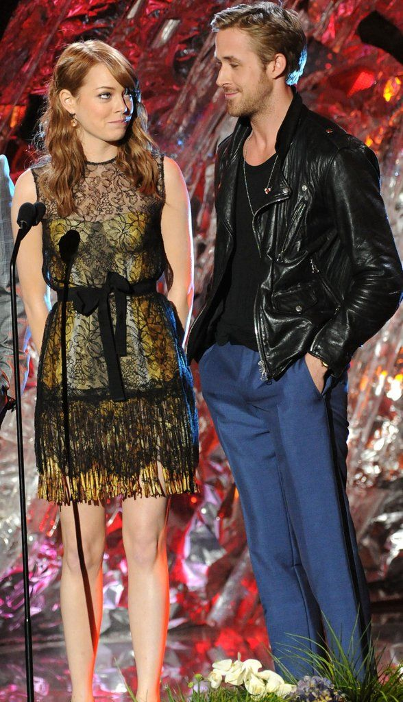 Emma Stone and Ryan Gosling Clearly Have Nothing but Crazy, Stupid, Love For Each Other