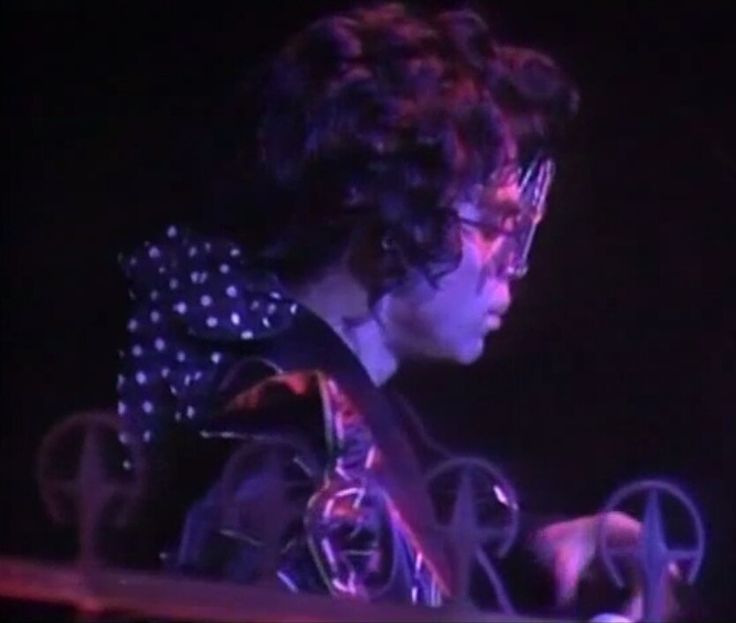 """Prince as """"Bob """"George"""" from """"The Black Album."""""""