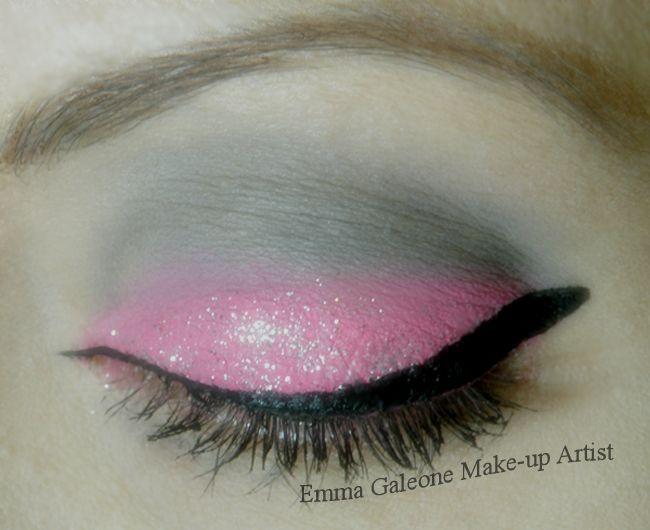 Trucco rosa diamante  Pink diamond eye make-up