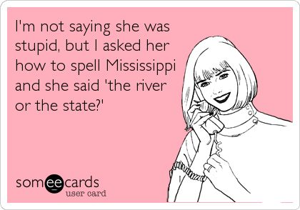 Oh My Freaking Stars!: Mississippi