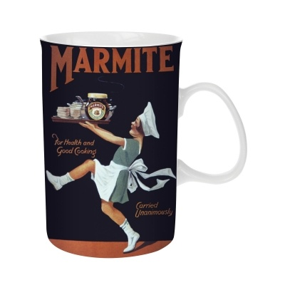 Marmite Traditional Mug | Past Times £6.00 #Marmite #Gifts