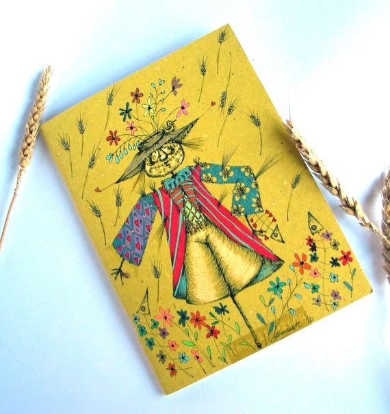 Ecological Recycled Yellow Summer OOAK Squared by gufobardo, €33.00