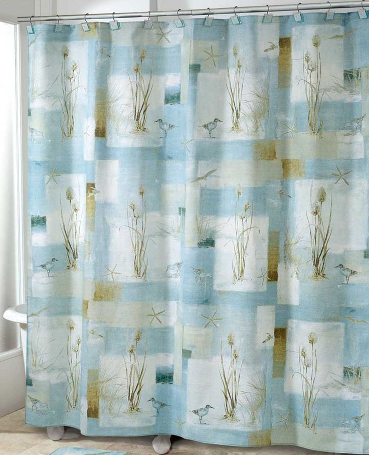 17 best ideas about beach shower curtains on pinterest for Beach mural curtains