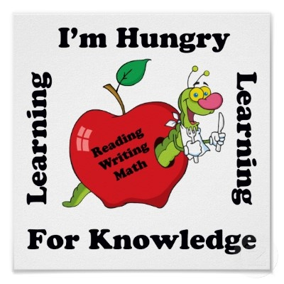 Hungry for knowledge